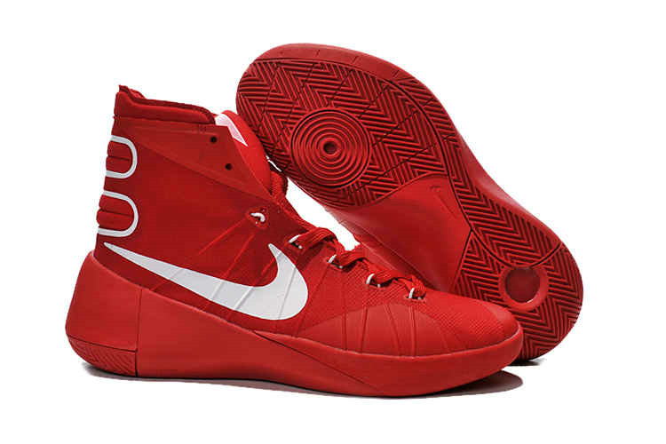 Cheap New Hyperdunk 2015 Red Metallic Silver On VaporMaxRunning