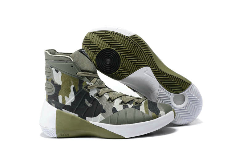 Nike Hyperdunk 2015 Cheap  On Sale Camouflage GreenOn VaporMaxRunning