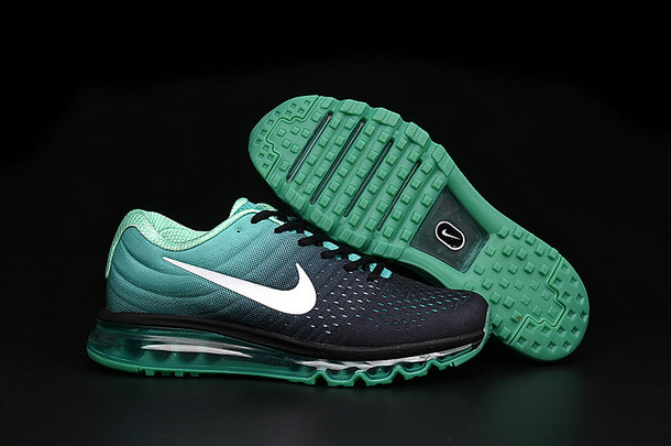 Cheap Nike Air Max 2017 Womens Grass Green Black White On VaporMaxRunning