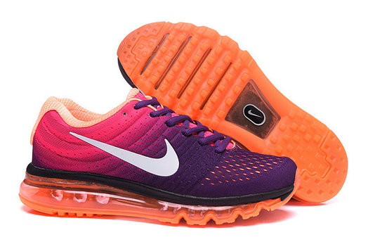 Cheap Nike Air Max 2017 Womens Purple Black White Pink Orange On VaporMaxRunning