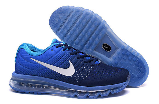 Cheap Nike Air Max 2017 Womens Royal Blue White On VaporMaxRunning