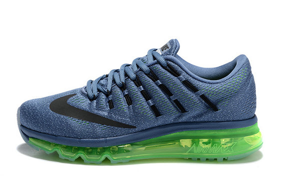 Cheap Nike AirMax 2016 Blue Green Black On VaporMaxRunning