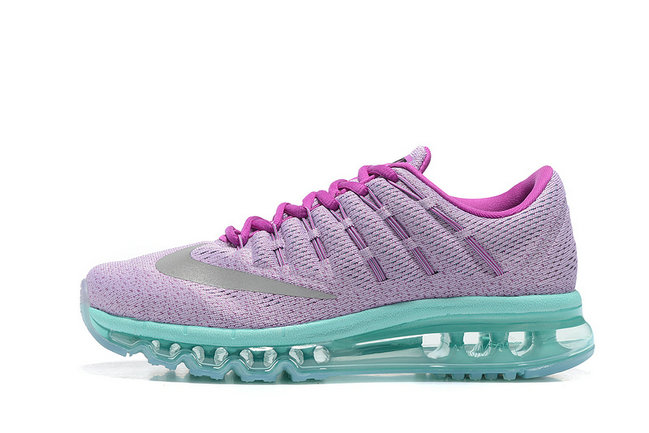 Cheap Nike AirMax 2016 Grass Green Purple Grey On VaporMaxRunning
