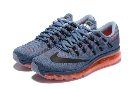 Cheap Nike AirMax 2016 Grey Orange Black On VaporMaxRunning