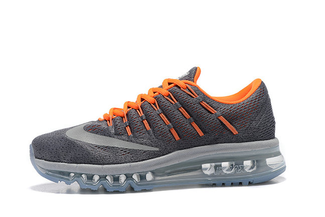 Cheap Nike AirMax 2016 Orange Grey On VaporMaxRunning