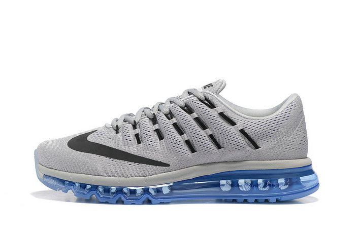 Cheap AirMax 2016 Mens Blue Grey Black On VaporMaxRunning
