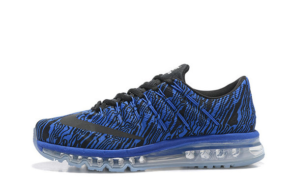 Cheap AirMax 2016 Mens Royal Blue Black On VaporMaxRunning