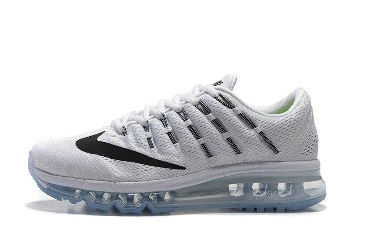 Cheap AirMax 2016 Mens White Black On VaporMaxRunning