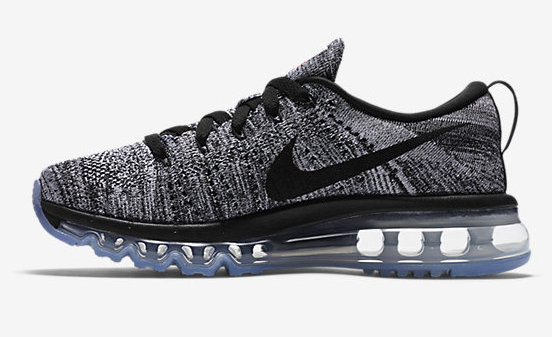 Cheap Nike Flyknit AirMax Black Grey On VaporMaxRunning