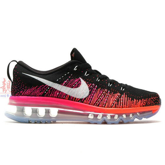 Cheap Nike Flyknit AirMax Orange Pink Black White On VaporMaxRunning