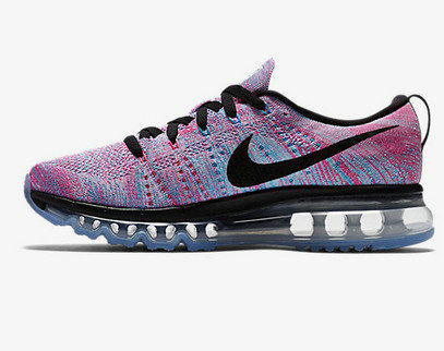 Cheap Nike Flyknit AirMax Purple Black Blue On VaporMaxRunning