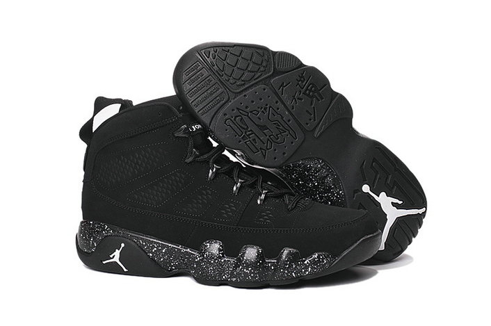 Cheap NikeAirJordan 9 Black White On VaporMaxRunning