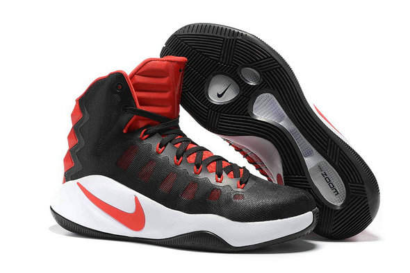 Cheap Hyperdunk 2016 Black Red White On VaporMaxRunning