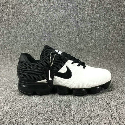 Cheap Air Max 2017 x Max 2018 Fusion Total Black White On VaporMaxRunning