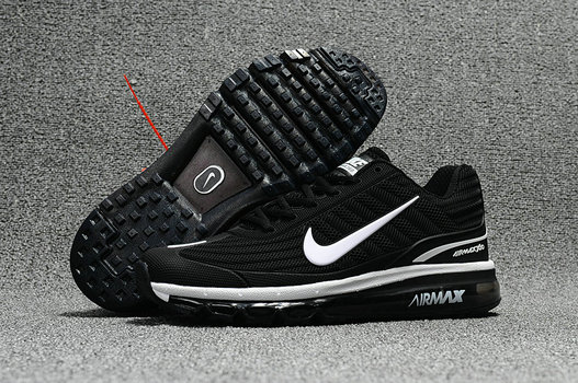 Cheap Nike Air Max 2017 x 360 Fusion Black White On VaporMaxRunning