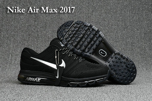 Nike Air Max Cheap Nike Air Max 2017 Running Black White On VaporMaxRunning