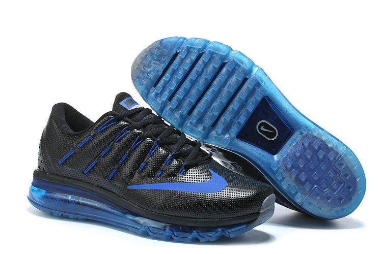 Nike Air Max Cheap Nike Air Max 2016 Leather Blue Black On VaporMaxRunning