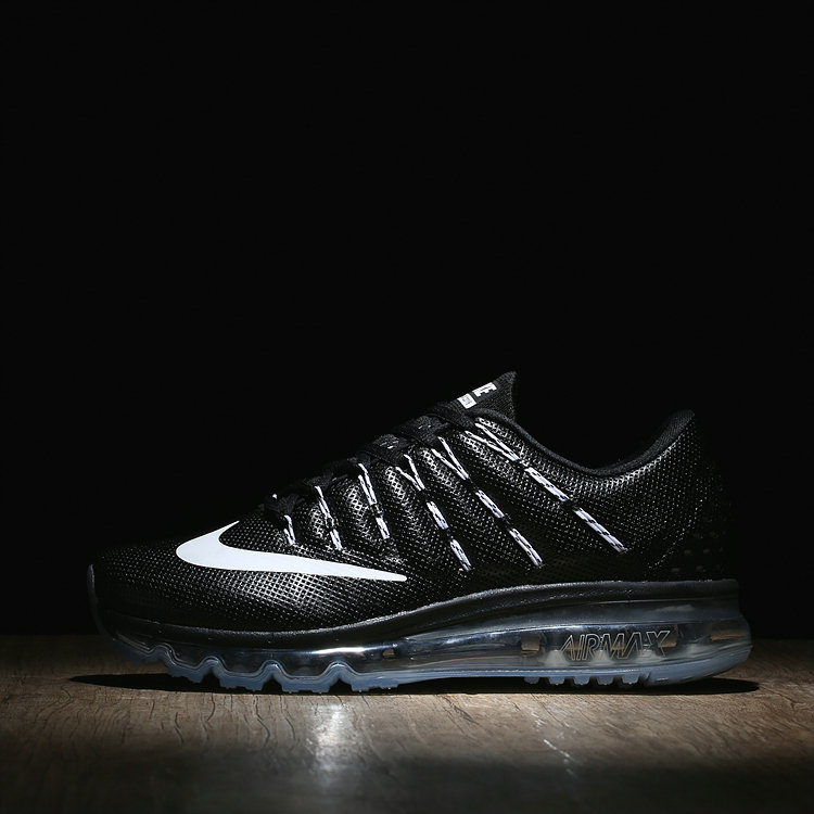 Womens Air Max Cheap Air Max 2016 Leather Fire White Black On VaporMaxRunning