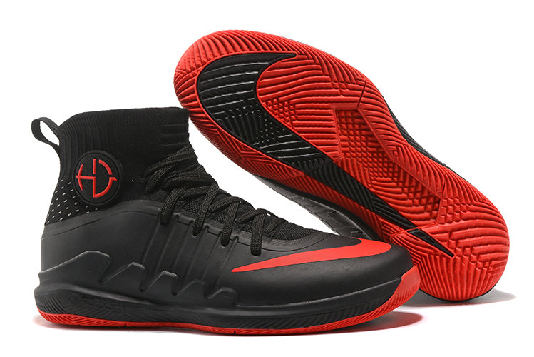 Nike Hyperdunks Cheap Nike Hyperdunk 2017 TB Red Black On VaporMaxRunning