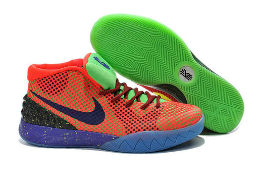 Cheap Nike Kyrie 1 2016 Orange Green Purple Yellow On VaporMaxRunning