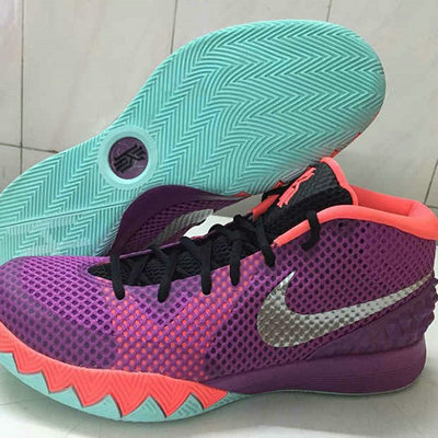 Cheap Nike Kyrie 1 2016 Medium Berry Purple Orange Black On VaporMaxRunning