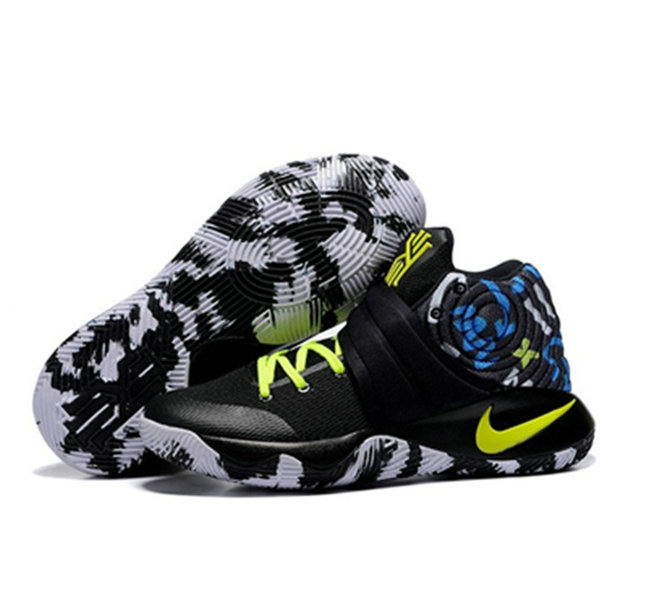 Cheap Nike Kyrie Irving 2 camouflage yellow black On VaporMaxRunning