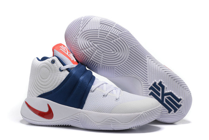 Cheap Nike Kyrie Irving 2 Champi On White Blue RedOn VaporMaxRunning
