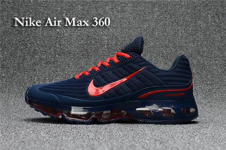 Cheap Nike Air Max 360 Navy Blue Orange On VaporMaxRunning
