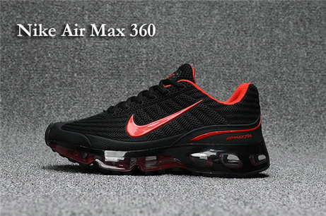 Cheap Nike Air Max 360 Red Black On VaporMaxRunning