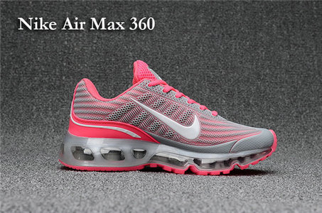 Cheap Air Max 360 Womens Pink Grey On VaporMaxRunning
