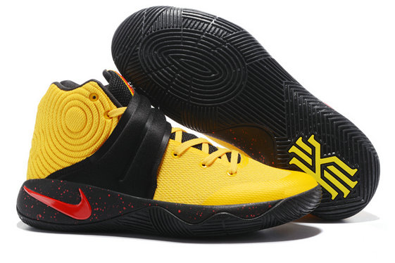 Cheap NikeKyrieIrving 2 Yellow Black Red On VaporMaxRunning