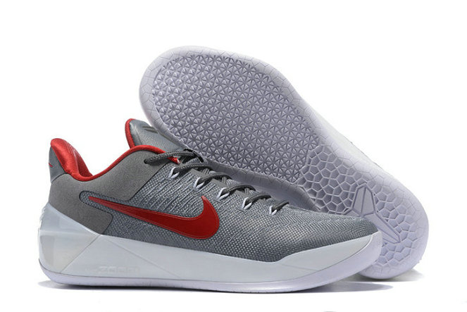 Cheap Nike Zoom Kobe 12 A.D Grey Red White On VaporMaxRunning