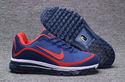 Cheap Nike Air Max 2017 Nanometer Blue Red White On VaporMaxRunning