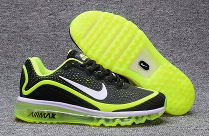 Cheap Nike Air Max 2017 Nanometer Grass Green Black On VaporMaxRunning