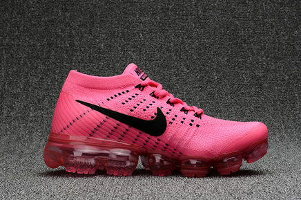 Cheap Nike Air VaporMax 2017 Flyknit Womens Pink Black On VaporMaxRunning