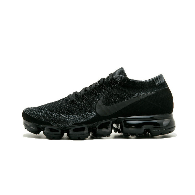 Cheap Nike Air VaporMax Flyknit Womens Black Warrior On VaporMaxRunning
