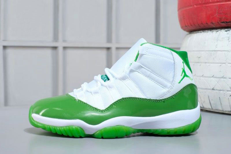 Cheap 2018 Air Jordan 11 Apple Green White M07105634 Online Sale On VaporMaxRunning
