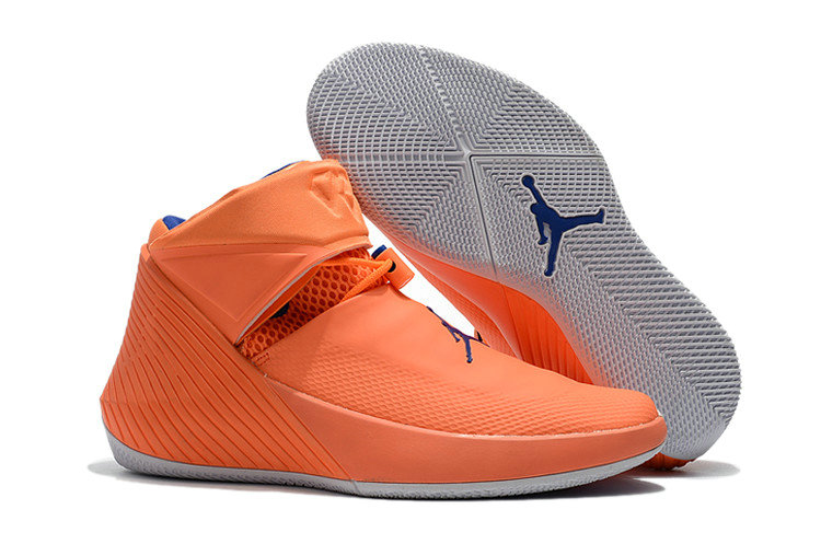 2018 Air Jordan Shoes x Cheap Nike Jordan Why Not Zer0.1 Orange Pulse Hyper Royal-Sail On VaporMaxRunning