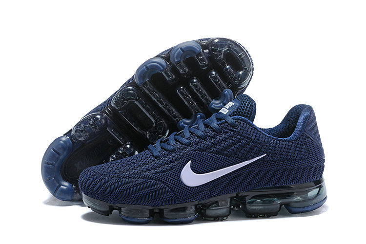 2018 NikeLab Air Max x Cheap Nike Air Max 2018 Navy Blue White On VaporMaxRunning