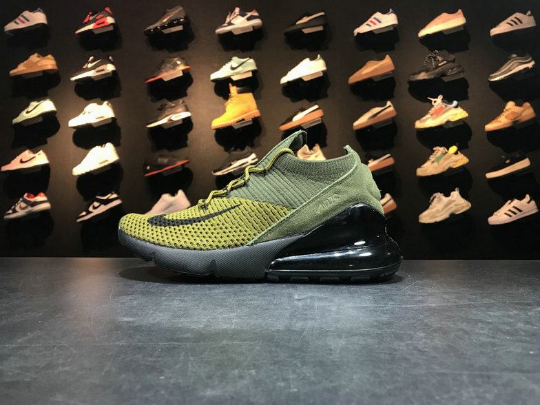 quality design 8a3dc bc3a3 2018 NikeLab Air Max x Cheap Nike Air Max 270 Flyknit Army Green Dark Green-