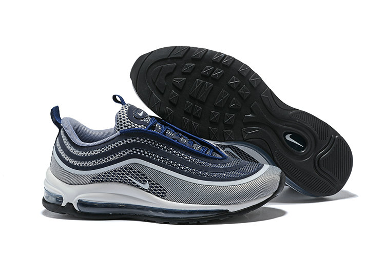 be82e4efac 2018 NikeLab Air Max x Cheap Nike Air Max 97 Ultra Navy Blue Grey White On