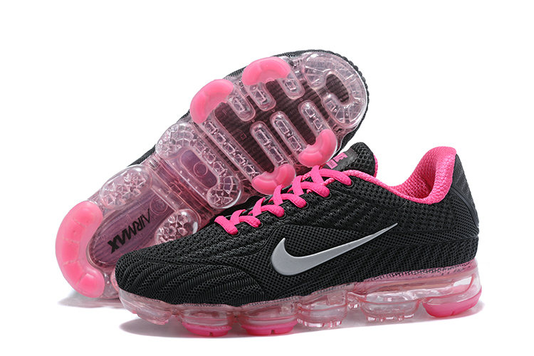 2018 NikeLab Air Max x Cheap Womens Nike Air Max 2018 Black Pink Grey On VaporMaxRunning
