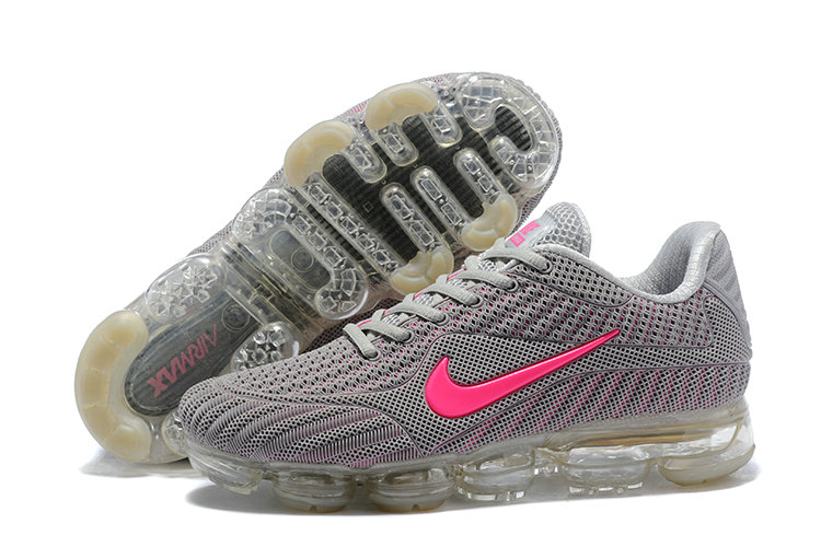 2018 NikeLab Air Max x Cheap Womens Nike Air Max 2018 Grey Pink On VaporMaxRunning