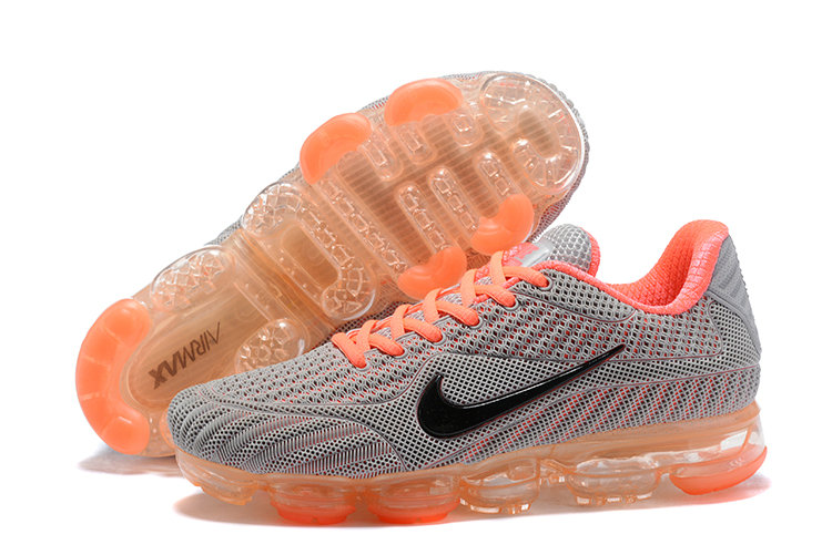 2018 NikeLab Air Max x Cheap Womens Nike Air Max 2018 Orange Grey Black On VaporMaxRunning