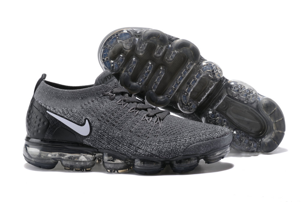 2018 NikeLab VaporMax x Cheap Nike Air VaporMax 2.0 Black-Black-White-Racer Blue On VaporMaxRunning