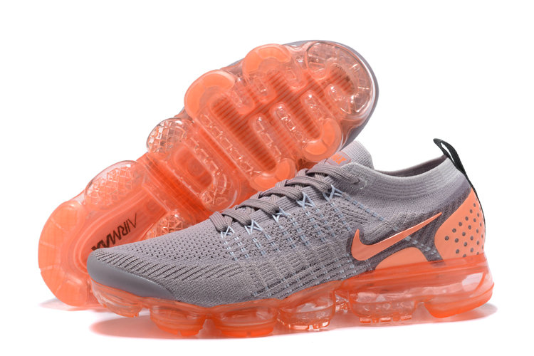 2018 NikeLab VaporMax x Cheap Nike Air VaporMax 2.0 Grey Ultramarine Hot Punch colorway On VaporMaxRunning