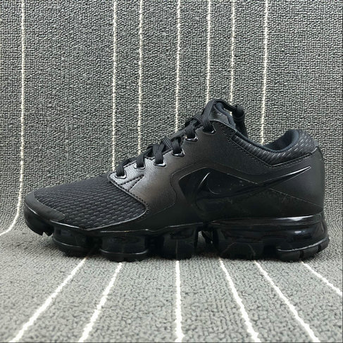 2018 NikeLab VaporMax x Cheap Nike Air VaporMax 2018 CS Colorway Triple Black On VaporMaxRunning