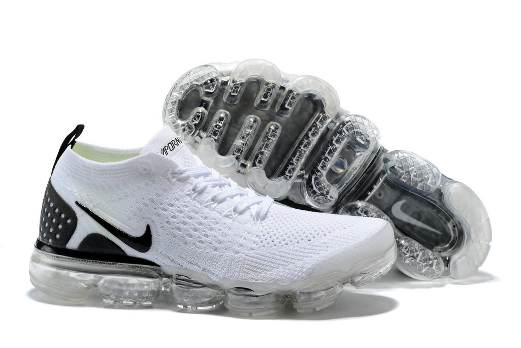 buy online fe274 04a15 2018 NikeLab VaporMax x Cheap Nike Air Vapormax 2.0 White Black On  VaporMaxRunning