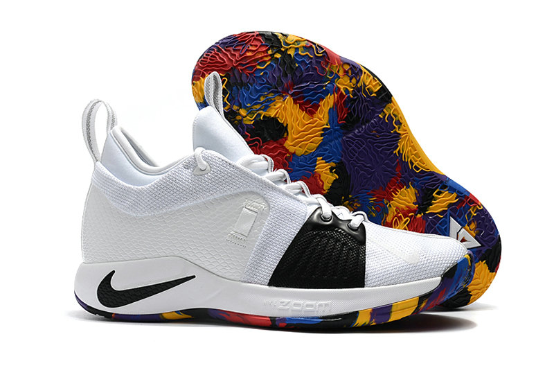 2018 Cheap Nike PG 2  Paul George Colorful Black White On VaporMaxRunning