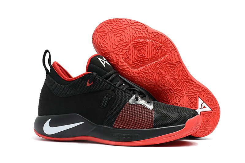 2018 Cheap Nike PG 2  Paul George White Red Black On VaporMaxRunning